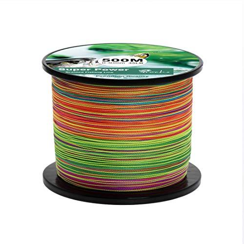 Filo da Pesca Lenza Trecciato 300M / 500M / 1000M Strong PE Dynamix Line Colourfast 0.1-0.3mm 14-45LB