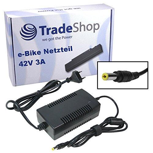 Trade-Shop Netzteil Ladegerät Ladekabel 3A für 36V Akkus mit 5,5mm x 2,5mm Rundstecker ersetzt HP1202L3 für MiFa, Cyco, Curtis, McKenzie e-Bikes