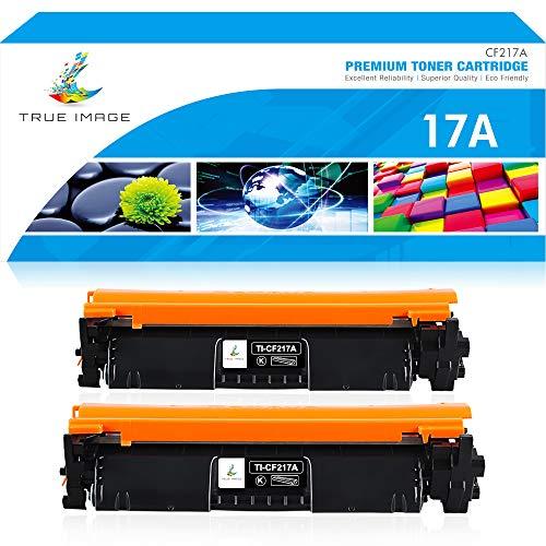 True Image Kompatibel Tonerpatrone Replacement für HP 17A CF217A Schwarz Toner für HP Laserjet Pro M102A M102W für HP Laserjet MFP M102 M130FW M130NW M130FN M130A für HP M130FW Laserdrucker Toner