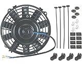 American Volt 12 voltios Motor Automotriz Radiador Eléctrico Ventilador de Refrigeración Reversible Alto Rendimiento Termo Coche Camión Enfriador Custom Actualizado Motor Mejor CFM