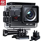 Victure AC700 Action Cam 4K 20MP Webcam PC Camera WiFi Unterwasserkamera wasserdichte 40M Action...