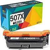 Cartuccia toner 507X 507A Do it wiser compatibile in sostituzione di HP Laserjet Enterprise 500 Color CE400X M551 M551n M551dn M551xh MFP M570 M570dn M570dw M575 M575c M575f M575dn (Nero)