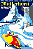 Matterhorn Bobsleds Disney Poster (11 x 17) Vintage