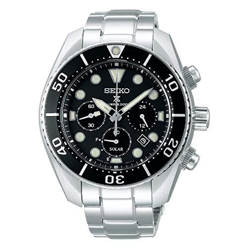 SEIKO Herren Solar Chronograph Armbanduhr - Prospex Divers SSC757P1