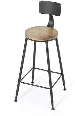 Amazon.com: Taburetes de cuero para bar modernos y ...