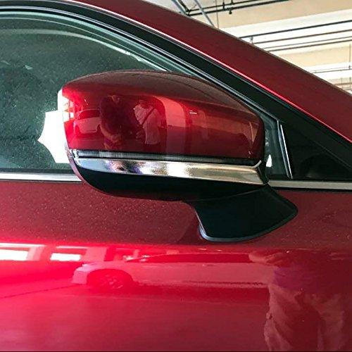 Für CX-5 KF 2017 2018 2019 2020 ABS Chrom Rückspiegel Zierstreifen Verkleidung 2 Stück