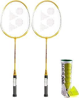 Yonex GR 303 Aluminum Badminton Kit, Yellow