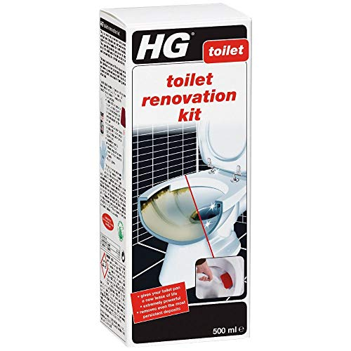 2 X Toilet Renovation Kit 500 ml – is an Extremely Powerful Toilet Cleaner for Removing Stubborn Stains and limescale