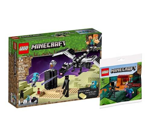 Collectix Lego Set Minecraft 21151 - Juego de cartas de Lego (incluye bolsa de plástico)