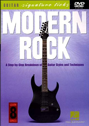Modern Rock: Guitar Signature Licks. Für Gitarre