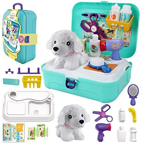 STAY GENT Gioco di Ruolo Valigetta Giocattolo Dottoressa Peluche per Bambini, Pet Play Set...