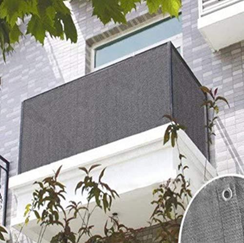 Balcón Cubierta De Valla De Jardín Privacidad Balcón Pantalla De Privacidad Refugio,Red De Sombrilla De Viento Para El Hogar Balcones Al Aire Libre Piscina