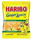 Best Ginger Candies - Haribo Gummi Candy, Ginger-Lemon, 4 oz. Bag Review