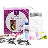 Fairy Craft Kits for Girls - Make Your Own Fairy in A Jar Night Light Kit - Fun DIY Arts and Crafts...