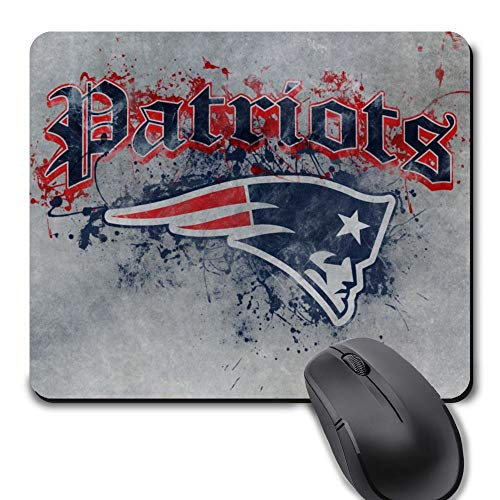 Gaming Mouse Pad,Life Needs Sport Mousepad with Non-Slip Rubber Base for Laptop Computer Desktop Mat - New England Football Team