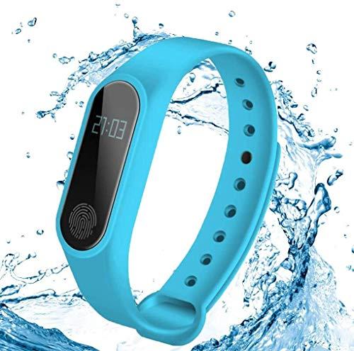 Rastreador de ejercicios Rastreador de ejercicios Muñequera, Control de actividad con monitor de ritmo cardíaco, reloj elegante, podómetro, del GPS, pulsera inteligente a prueba de agua for Android e