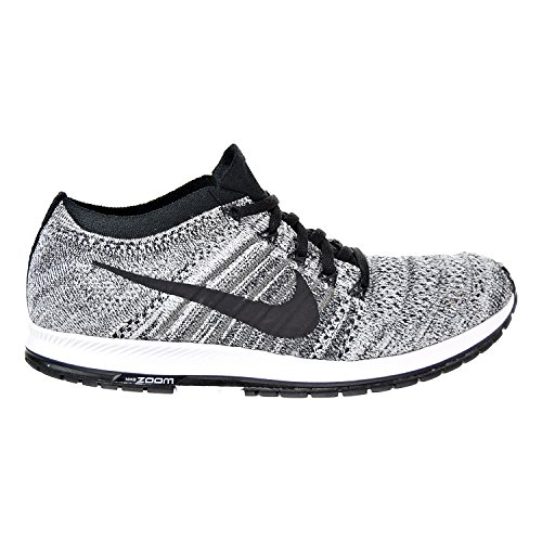 Nike Flyknit Streak Black/Wolf Grey Men's Running Training Shoes Size 11