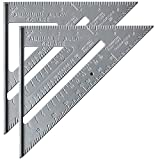 Mr. Pen Metal 7 Inches Rafter Square, Carpenter Square, Pack of 2