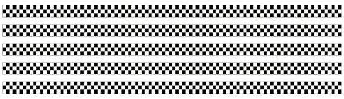 carstyling XXL Race-Flag-Stripe Streifen 5 m x 30 mm ~ schneller Versand innerhalb 24 Stunden ~