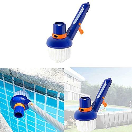 Gebuter Vakuum-Eckbürste für Swimmingpools, die Sich am besten für oberirdische, erdverlegte Schwimmbäder eignen. Whirlpools mit feinen Nylonborsten