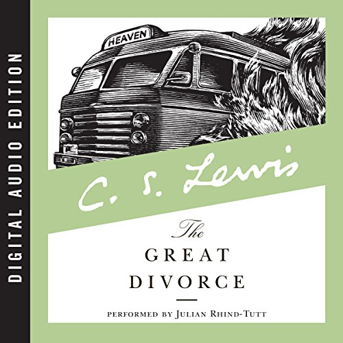 The Great Divorce audiobook cover art