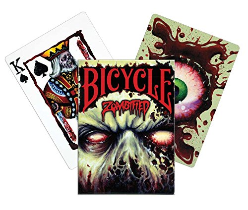 Bicycle - 1026936.0 - Jeu De Cartes - Zombified - Index Petite
