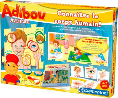 Clementoni - Jouet Premier Age - Adibou Corps Humain