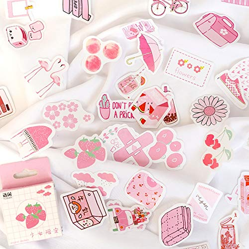 50 Pcs/lot Cute Summer Drinks Milk Kawaii Boxed Stickers Planner Scrapbooking Stationery Japanese Diary Stickers