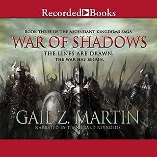 War of Shadows audiobook cover art