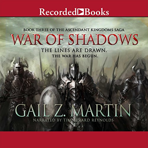 War of Shadows audiobook cover art
