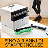 Zoom IMG-1 brother mfc 1910w stampante bianco
