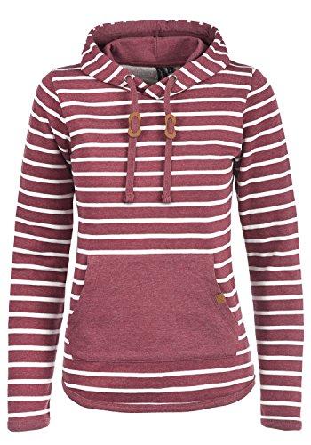 BlendShe Carina Damen Hoodie Kapuzenpullover Pullover Mit Kapuze, Größe:M, Farbe:Zinfandel (73006)