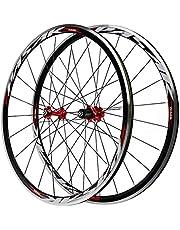 LICHUXIN 700C Double-Walled Road Bike Whebelsets Aluminiumlegering MTB Wheels Snelle Release C/V Rem 20/24 Gaten Fietswiel Fit 7-11 Snelheidscassette