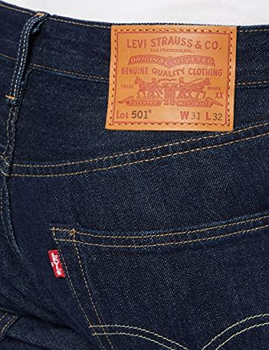 Levi's Men's 501 Original 'Straight`` Jeans, Onewash, 34W / 32L