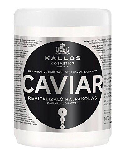 Kallos KJMN Kaviar Revitalisierender Haarkur mit Kaviarextrakt, 1000 ml