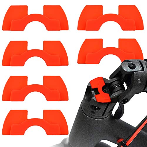 myBESTscooter - 6 Piezas de Amortiguador de Vibraciones para los Modelos M365, 1S, Essential, Pro del Patinete eléctrico Xiaomi