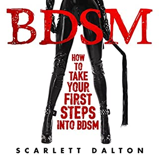 BDSM: How to Take Your First Steps into BDSM audiobook cover art