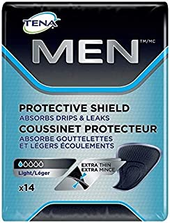 Tena Protective Incontinence Shields for Men, Very Light Absorbency, 112 Count