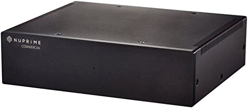 NuPrime The STA-6 Stereo Amplifier (High End Class A+D Hybrid Design)
