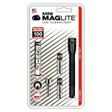 Maglite SP32016- Linterna LED Mini, 2 Pilas AAA, 12.5 cm, color negro