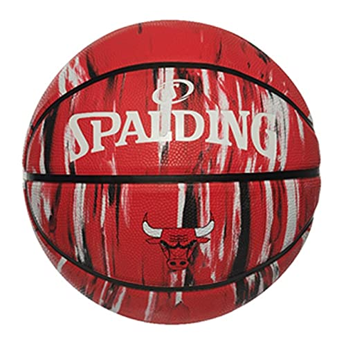 Uhlsport NBA Chicago Bulls Marble 84-127Z - Pelotas de Baloncesto, Multicolor