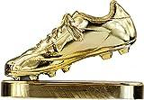 RegalosDeBodaOnline Trofeo réplica Bota de Oro Personalizado Grabado (14 cm de Altura)
