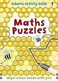 Maths Puzzles (Puzzle Cards + Pen)