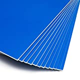 Blue Foam Boards for Signs, Craft Poster Boards (20 x 30 Inches, 12-Pack)