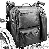 Multifunktions-Rollstuhl-Tasche | Mobilitätsroller Universal Rucksack | Gepolstertes Multi - Pocket - Hochwertige wasserdichte Aufbewahrungsbox Pukkr