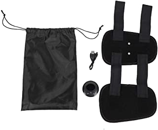 Dekaim Cinturón de Muslo, EMS Entrenador Muscular del hogar Electrónico Muslo de Pierna Muslo Masajeador Cinturón de Fitness