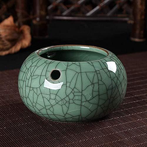 Gaojian Cenicero para Longquan Celadon cenicero de cerámica de Gran salón Cenicero,B