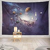 JOOCAR 惑星の太陽系のタペストリースペース太陽ギャラクシー宇宙壁マウント居間の寝室の寮の装飾的な芸術のタペストリー 150cm x 150cm