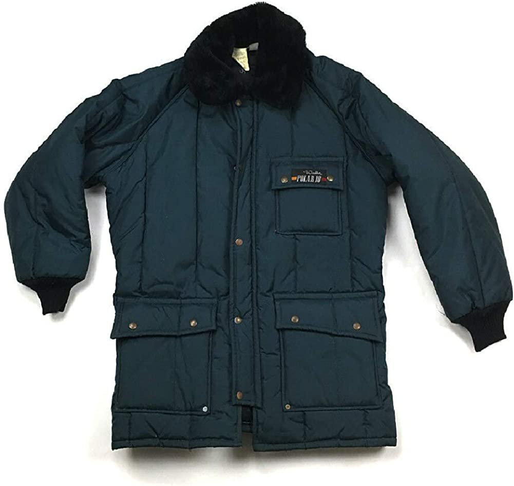 Big and Tall Insulated Freezer Jacket in Navy