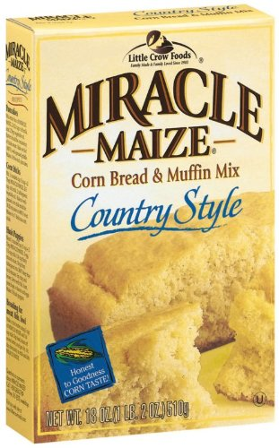 Super sale Miracle Maize Corn Bread and 18-Ounce Style Muffin Mix Country 100% quality warranty!
